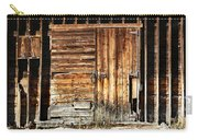 Wooden Slats Barn Carry-all Pouch