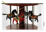 Wooden Toy Carousel Carry-all Pouch