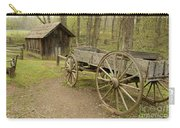 Wooden Wagon Carry-all Pouch