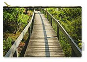 Wooden Walkway Through Forest Carry-all Pouch
