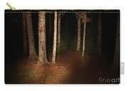 Woods At Night Carry-all Pouch