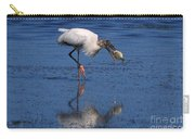 Woodstork Catches Fish Carry-all Pouch