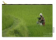 Working The Fields Carry-all Pouch