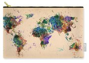 World Map 2 Carry-all Pouch