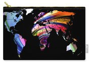 World Map Abstract Painting 2 Carry-all Pouch