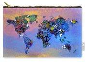 World Peace Tye Dye Carry-all Pouch