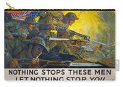 World War I: Poster, 1918 Carry-all Pouch