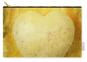 Worn Heart Carry-all Pouch
