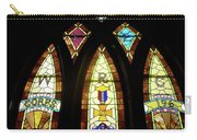 Wrc Stained Glass Window Carry-all Pouch