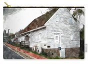 Wye Mill - Water Color Effect Carry-all Pouch by Brian Wallace