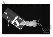 X-ray Of A Mouse Caught In A Trap Carry-all Pouch