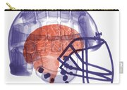 X-ray Of Head In Football Helmet Carry-all Pouch