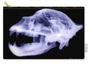 X-ray Of Kodiak Bear Skull Carry-all Pouch