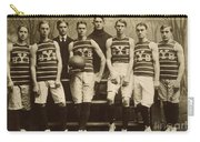Yale Basketball Team, 1901 Carry-all Pouch by Granger