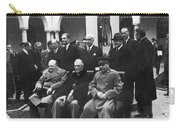 Yalta Conference, 1945 Carry-all Pouch