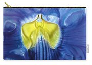 Yellow And Blue Carry-all Pouch