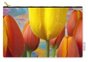 Yellow And Orange Tulips Carry-all Pouch