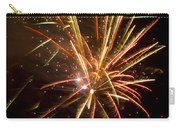Yellow And Red Fireworks Carry-all Pouch