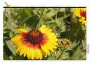 Yellow And Red In The Sunshine Carry-all Pouch