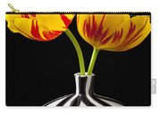 Yellow And Red Tulips Carry-all Pouch