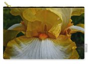 Yellow And White Iris Carry-all Pouch