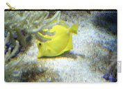 Yellow Angelfish Carry-all Pouch