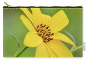 Yellow Artichoke Carry-all Pouch