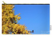 Yellow Autumn Tree Carry-all Pouch