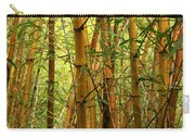 Yellow Bamboo Carry-all Pouch