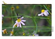Yellow Banded Black Winged Fly 1 Carry-all Pouch