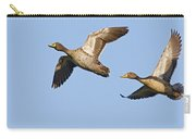 Yellow-billed Duck Anas Undulata Pair Carry-all Pouch