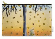 Yellow-blossomed Wishing Tree Carry-all Pouch