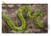 Yellow-blotched Palm Pitviper Carry-all Pouch