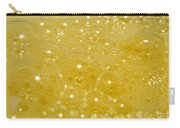 Yellow Bubbles Carry-all Pouch