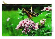 Yellow Butterfly  Carry-all Pouch