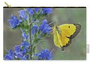 Yellow Cabbage Butterfly Carry-all Pouch