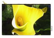 Yellow Calla Lily Carry-all Pouch