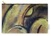 Yellow Caryatid - Nudes Gallery Carry-all Pouch