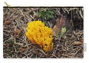 Yellow Coral Mushroom Carry-all Pouch
