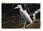 Yellow Crowned Night Heron II Carry-all Pouch