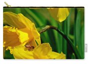 Yellow Daffodils And Honeybee Carry-all Pouch