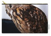 Yellow-eyed Owl Side Carry-all Pouch
