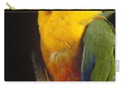 Yellow-faced Parrot Amazona Xanthops Carry-all Pouch