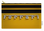 Yellow Ferrari Brightwork Carry-all Pouch