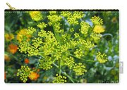 Yellow Firework Or Dill In Its Glory Carry-all Pouch