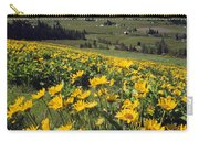 Yellow Flowers Blooming, Hood River Carry-all Pouch