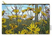 Yellow Flowers By The Roadside Carry-all Pouch