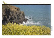Yellow Flowers On The Northern California Coast Carry-all Pouch