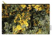 Yellow Flowers On Tree Carry-all Pouch