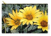 Yellow Gazanias Carry-all Pouch
